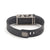 Rear view of Fitbit Flex with Bytten Matisse slide - nickel steel
