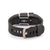 Rear view of Fitbit Charge HR with Bytten Grace slide - sterling silver