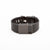 Fitbit Charge HR with engravable Bytten Custom™ Rasa slide  - black steel