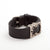 Side view of Fitbit Charge HR with Bytten Matisse Frame - nickel steel