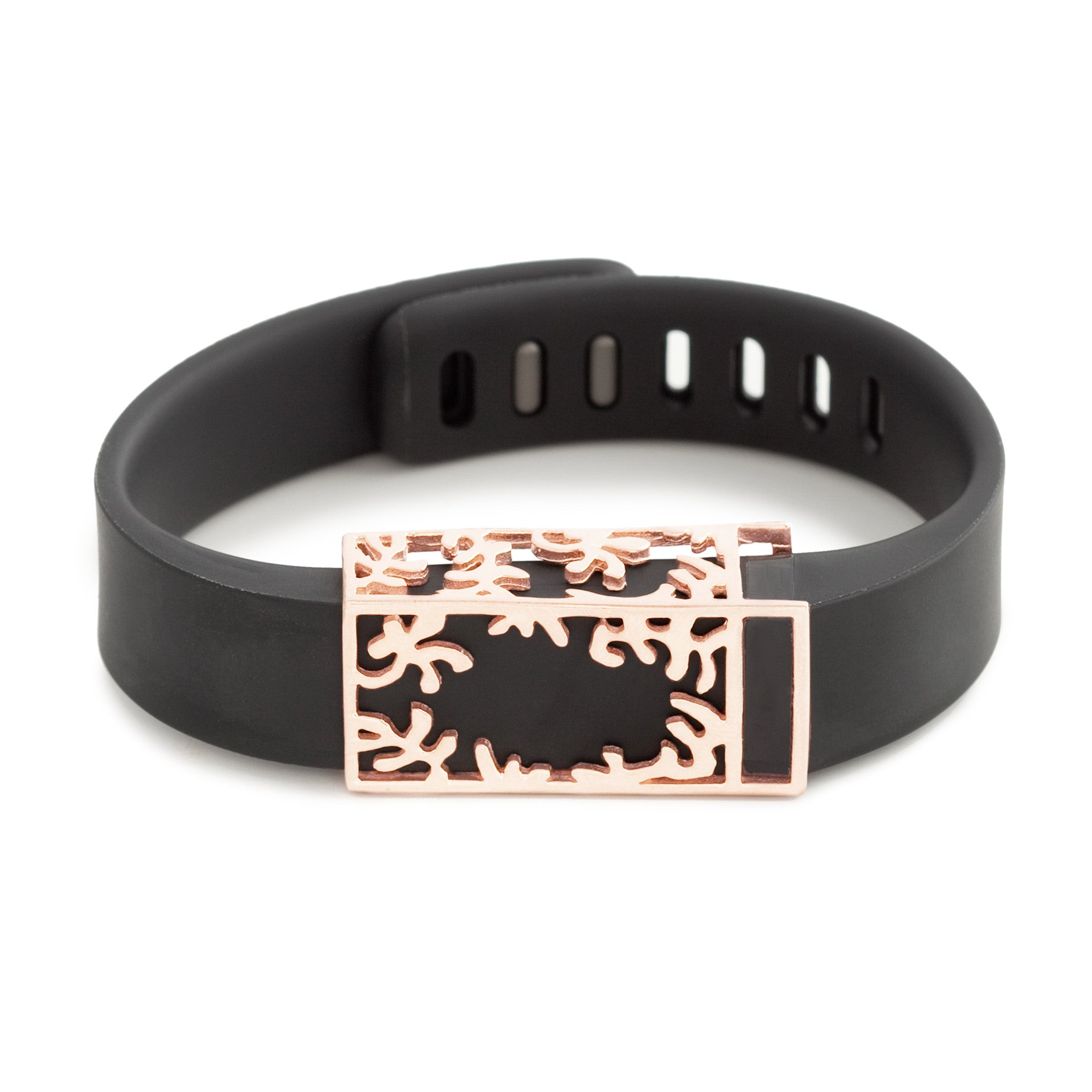 Fitbit Flex with Bytten Matisse slide - rose gold