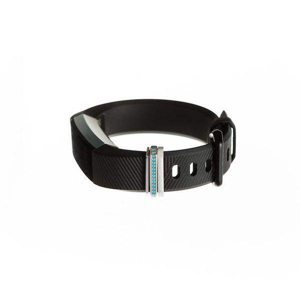 Bytten Azul Stack on Fitbit Alta and Alta HR - silver