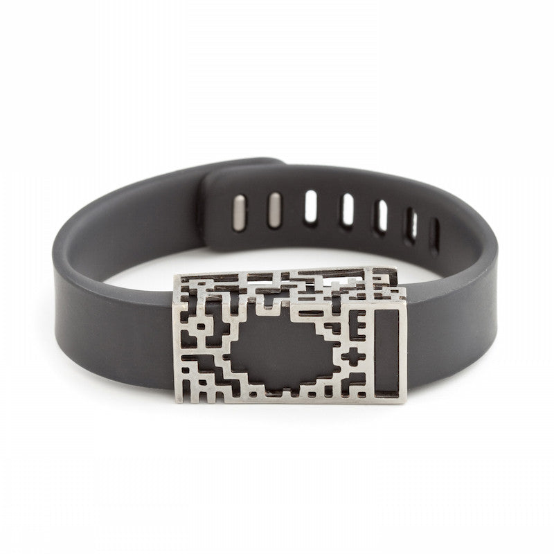 Fitbit Flex with Bytten Lucas slide - smokey grey