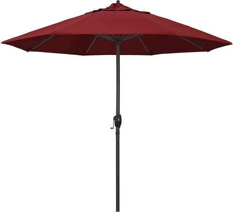9ft Bronze Aluminum Pole Market Style Patio Umbrella