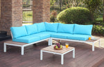 Contemporary Patio Sectional with Table