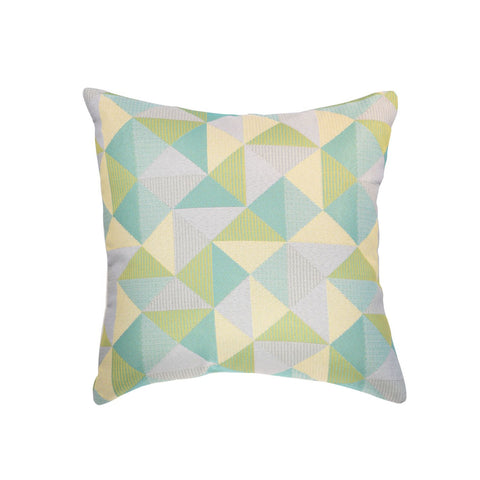 Weather Resistant Ruskin Lagoon Square Outdoor Accent Throw Pillow