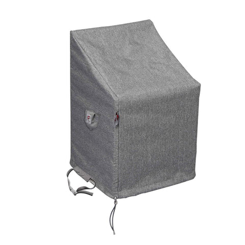 Small Platinum Shield Outdoor Chair Cover