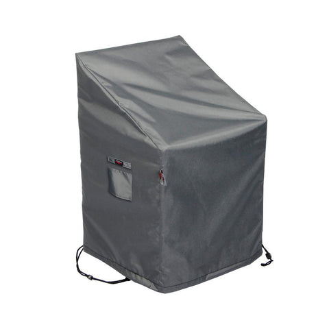 Medium Titanium Shield Outdoor Chair Cover