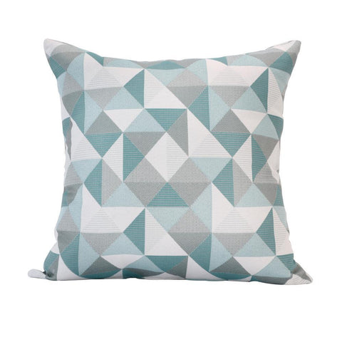 Ruskin Lakeside Square Outdoor Accent Lounge Throw Pillow
