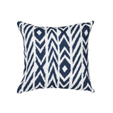Fire Island Midnight Square Outdoor Accent Throw Pillow
