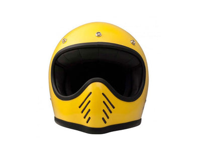 DMD SEVENTY FIVE YELLOW HELMET