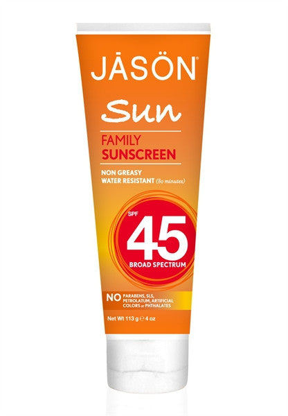 Family Natural Sunscreen SPF 45