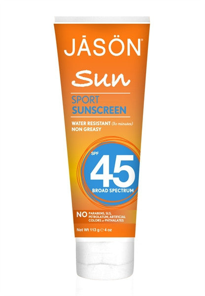 Sport Natural Sunscreen SPF 45