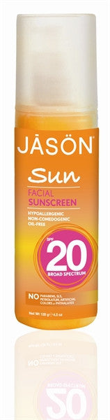 Facial Natural Sunscreen SPF 20