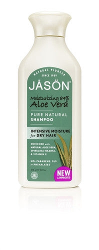 Jason Moisturizing 84% Aloe Vera Shampoo - 473ml