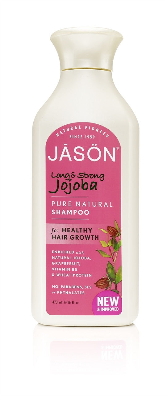 Jason Long And Strong Jojoba Shampoo - 473ml