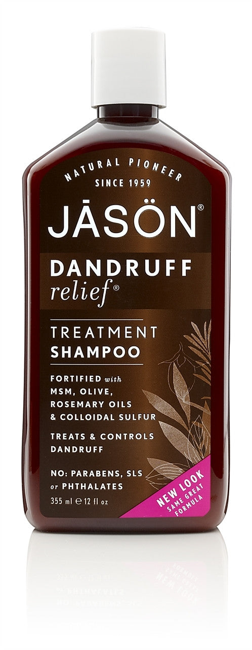 Jason Dandruff Relief Treatment Shampoo - 355ml