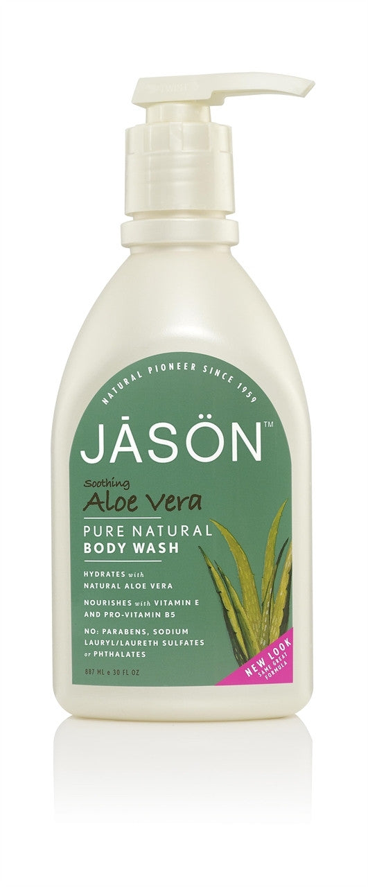 Jason Soothing Aloe Vera Body Wash -887ml