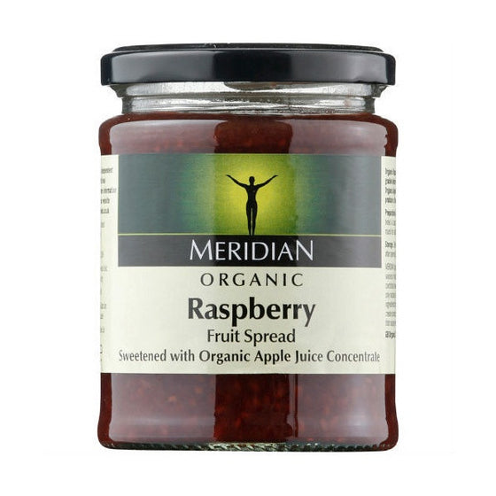 Meridian Organic Raspberry Fruit Spread- 284g