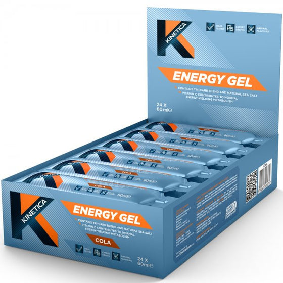 Kinetica Energy Gel 60ml (pack of 24)