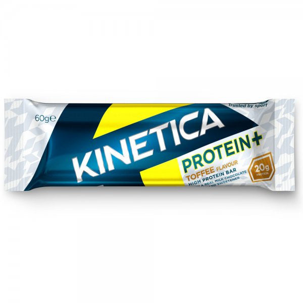 Kinetica Protein+ Bar Toffee- 12x60g