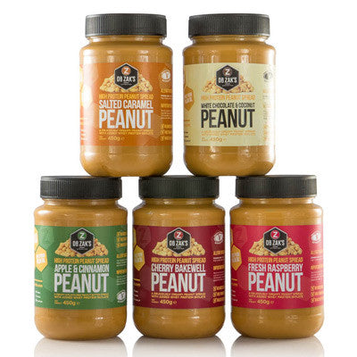 Dr Zak's High Protein Peanut Spreads 320g