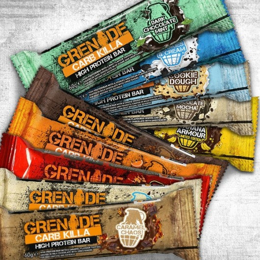 Grenade Carb Killa Box of 12