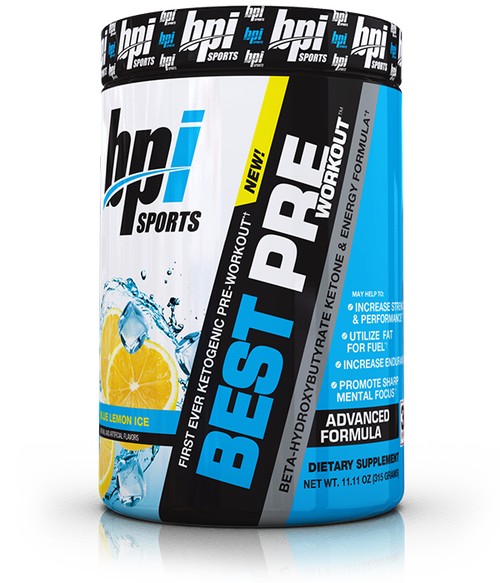 BPI Sports Best Pre-Workout 30 Servings (315 grams) - KETOGENIC