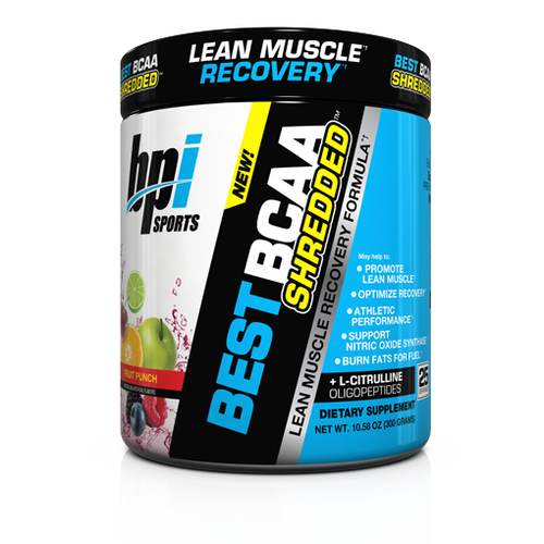 BPI Sports Best BCAA Shredded - 25 servings
