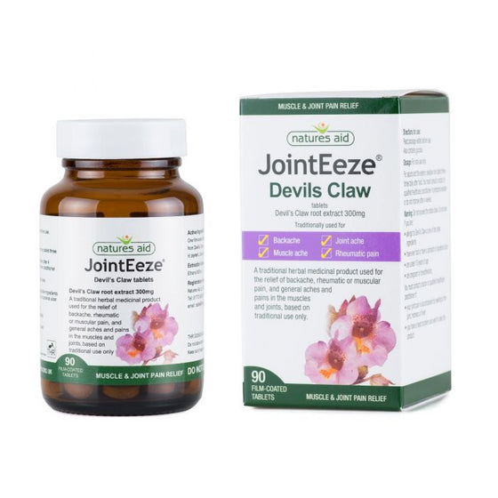 Natures Aid JointEeze® 300mg (Devil's Claw) 90 Tablets