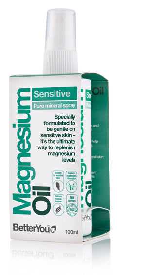 BetterYou Sensitive Magnesium Oil- 100ml