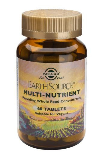 Solgar Earth Source(R) Multi-Nutrient Tablets