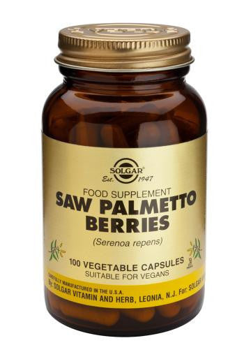 Solgar Saw Palmetto Berries 100 Vegetable Capsules