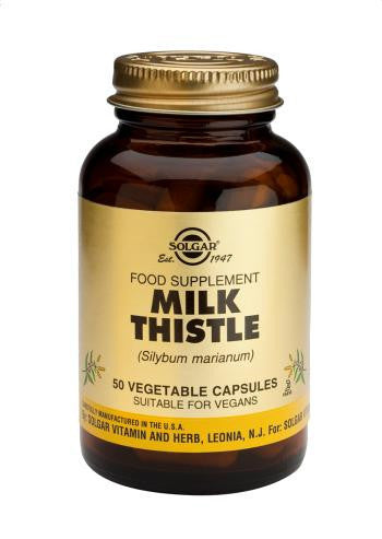 Solgar Milk Thistle Vegetable Capsules