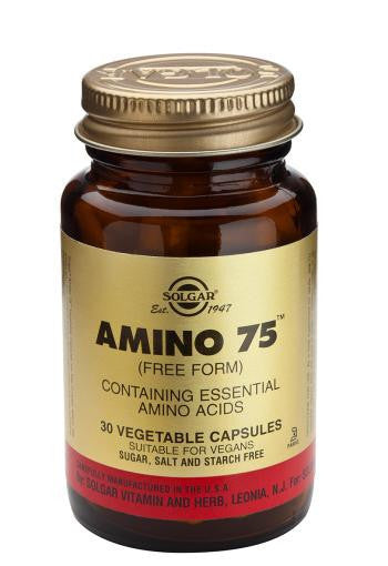 Solgar Amino 75(TM) Vegetable Capsules