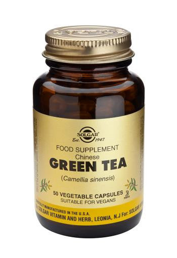 Solgar Chinese Green Tea 50 Vegetable Capsules