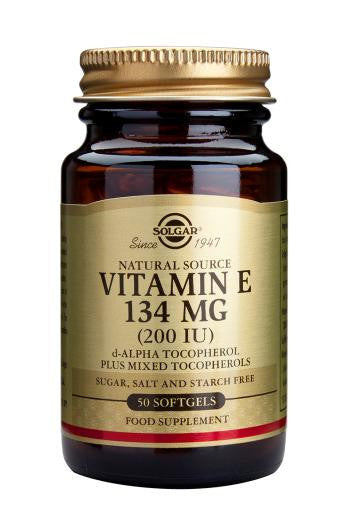 Solgar Vitamin E 134 mg (200 IU) Softgels