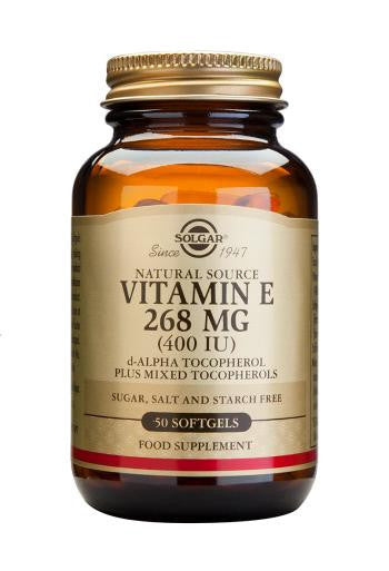 Solgar Vitamin E 268 mg (400 IU) Softgels