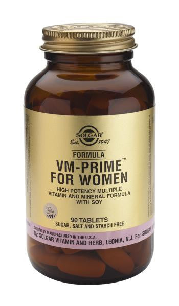 Solgar Formula VM-Prime(TM) For Women 90 Tablets