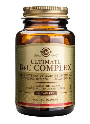 Solgar  Ultimate B+C Complex Tablets