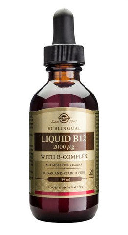 Solgar Liquid B12 2000 åµg with B-Complex 59ml