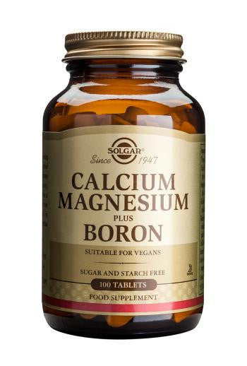 Solgar Calcium Magnesium Plus Boron Tablets