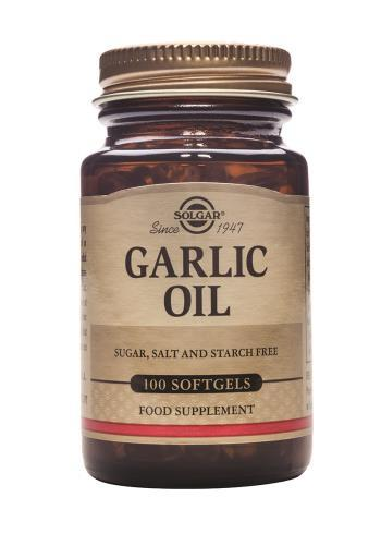 Solgar Garlic Oil 100 Softgels (Reduced Odour)