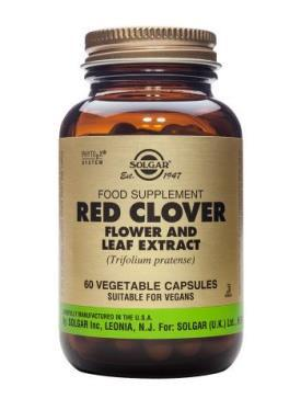 Solgar Red Clover Flower and Leaf Extract 60 Vegetable Capsules