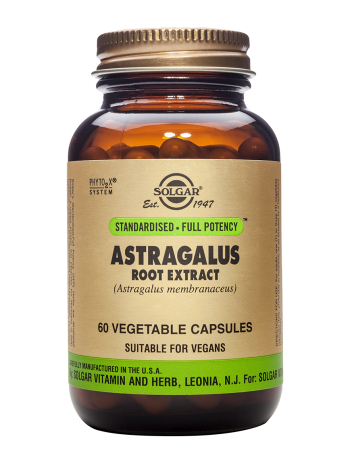Solgar Astragalus Root Extract 60 Vegetable Capsules