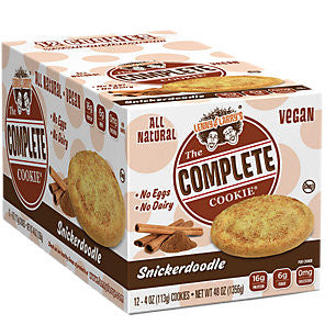 Lenny & Larry's Complete Cookie Snickerdoodle x12
