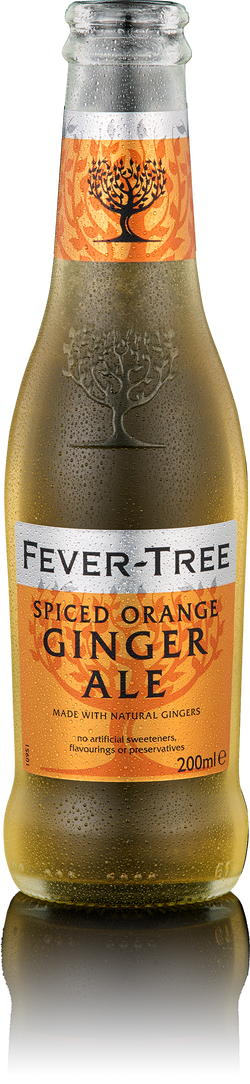 Fever-Tree Spiced Orange Ginger Ale - 24 x 200ml
