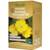 Evening Primrose Oil 500mg (Organic) - 90 Capsules