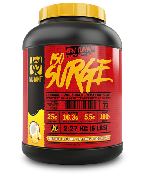 Mutant Iso Surge Protein Powder  - 2.27 KG