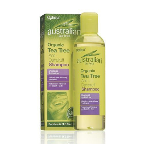 Organic Tea Tree Anti-Dandruff Shampoo 250ml